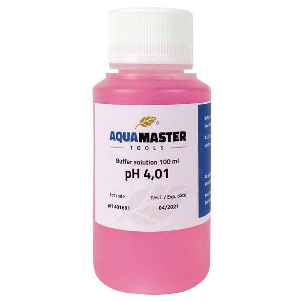 Aqua Master Tools 100 ml Buffer Solution pH 4.01
