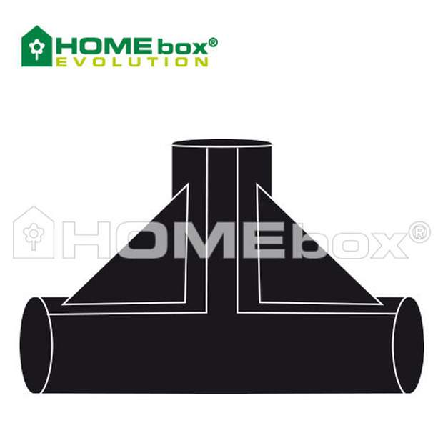 HOMEbox T- connector 22 mm /  2 Stk.