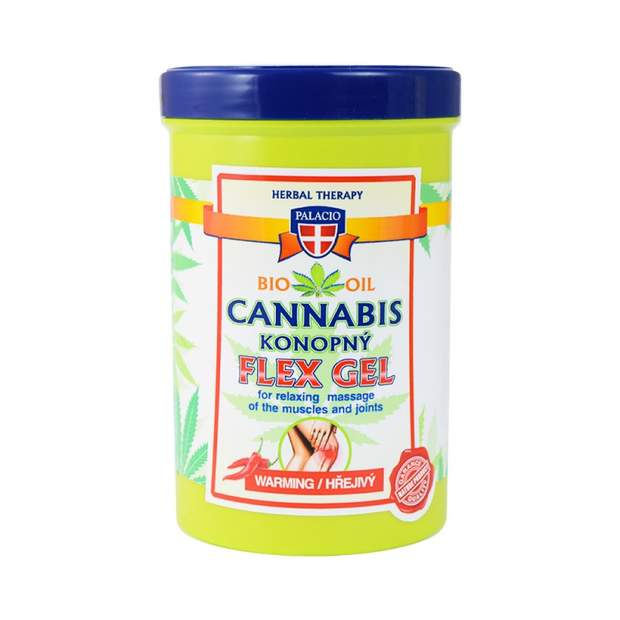 Cannabis Massage FLEX Gel Wärmend 380ml