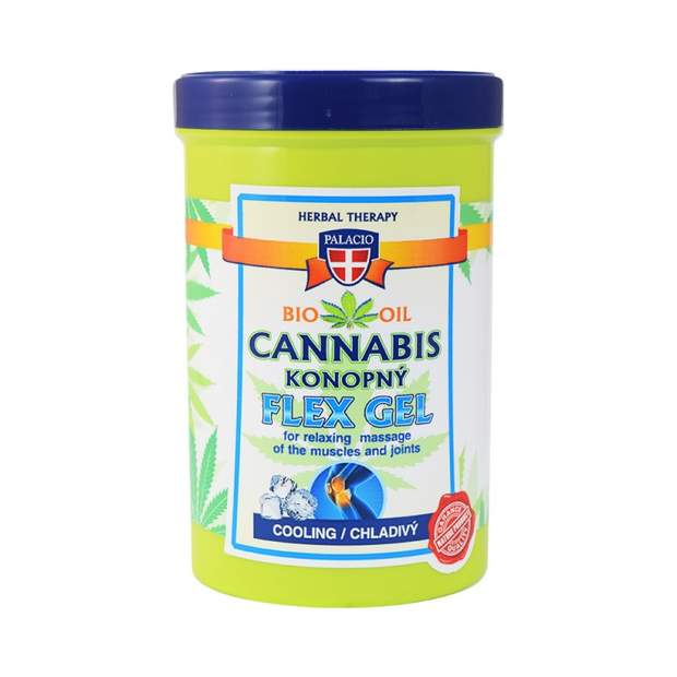 Cannabis Massage FLEX Gel Kühlend 380ml
