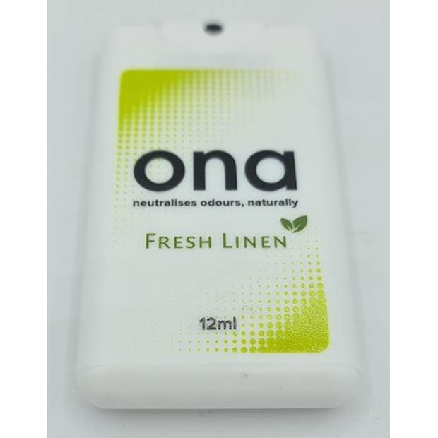 ONA Mini 12ml Spray Karte Fresh Linen