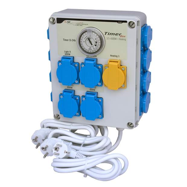 GSE (Heizung3Phasen) Timer Box 2 12x600W
